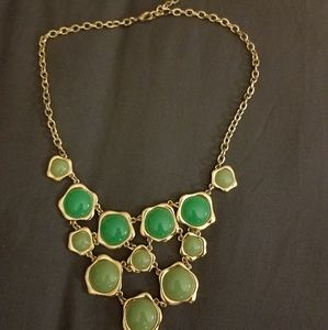 Ombre Green Necklace